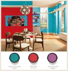 Behr paint colours