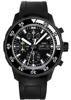 IW376705 Galapagos IWC Aquatimer Chronograph Edition Galapagos Islands Mens Watch