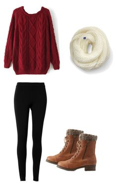 """Thanksgiving outfit #1"" by madisenharris on Polyvore featuring Max Studio, Keds and Charlotte Russe"