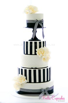 black white and cream
