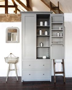 The perfect little Pantry Cupboard. #deVOLKitchens