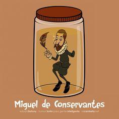 Miguel de conservantes.