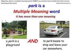 Multiple Meaning Words-Using Context Clues