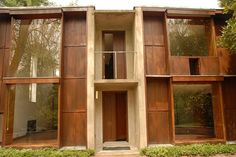 margaret esherick – The Higher Inquiètude Louis Kahn, Classical Architecture, School Architecture, Architecture Details, Landscape Architecture, Esherick House, Cafe Japan, Unusual Homes, Modern Masters