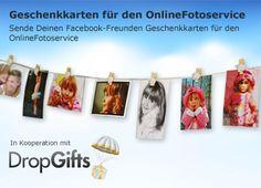 Dropgifts Geschenkkarten für den OnlineFotoservice!