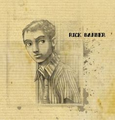 Rick Banner Banner, Drawings, Banner Stands, Sketches, Drawing, Banners, Portrait, Draw, Grimm