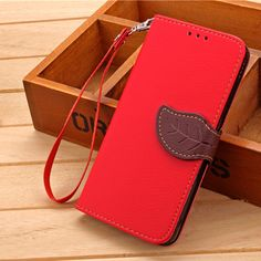 For Xiaomi Redmi 3 Hongmi 3 5 0 Folio Leaf Clasp PU Leather Strap Stand Phone. Click visit to buy #WalletCase #Case