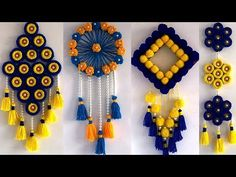 Impressive Creative Home Decor & Impressive creative home decor & Delightful to be able to my personal website, in this& Diy Crafts Hacks, Diy Arts And Crafts, Craft Stick Crafts, Creative Crafts, Creative Decor, Craft Ideas, Decor Ideas, Diwali Diy, Diwali Craft