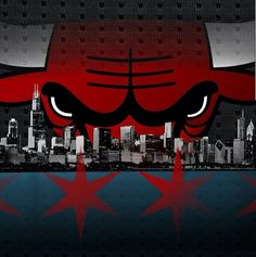 Chicago Bulls skyline