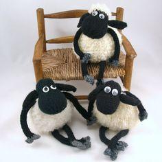 Baba the sheep pdf knitting pattern- how cute!!!!