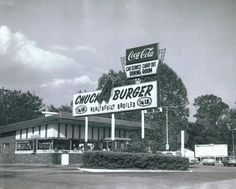 Chuck-A-Burger cruisin' landmark to close original location - Chevy HHR Network Missouri, St Louis County, Chevy Hhr, St Louis Mo, Signs, Back In The Day, The Neighbourhood, Places To Visit, Vintage