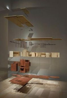 "Frank Lloyd Wright's ""usonia"" Now On Display At Sc Johnson ; Company's Free Tour Program Invites Visitors To Explore Inspired Architecture, Artifacts And Concept Models Architecture, Architecture Design, Usonian House, Exhibition Models, Urban Design Diagram, Landscape Model, Arch Model, Presentation Layout, Contemporary Home Decor"