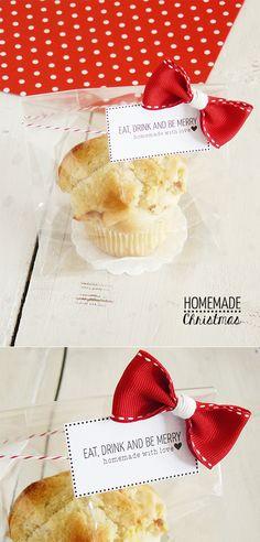 Pretty Box: Homemade Christmas #3 Muffin vegan alla cannella