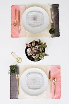 Manteles Indivivuales Caseros / DIY Placemats