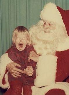 poor kid (poor Santa)