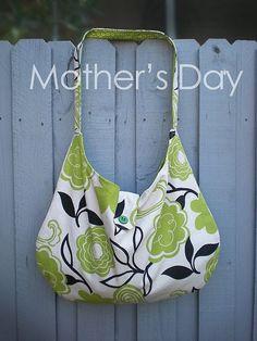 hobo bag #sewing #bags #tutorials