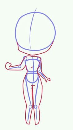 How to draw chibi