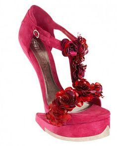 Alexander McQueen shoe collection for Autumn-Winter 2012-2013