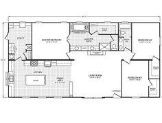 Canyon Lake 32603G Fleetwood Homes 1800 Sq ft