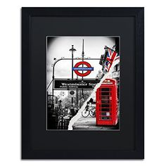 "Trademark Fine Art Westminster Station by Philippe Hugonnard Artwork, 16 by 20"", Black Matte Frame Trademark Fine Art http://www.amazon.com/dp/B0144OXE1E/ref=cm_sw_r_pi_dp_GAN-vb1CSXER2"