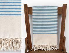Turkish Beach Towel HIDDEN PLEASURE PESHTEMAL by CottonCocoon, $26.00
