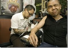 ¿Dónde duele más un tatuaje?