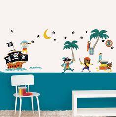 Pirates Decorative Wall Stickers - Nouvelles Images -