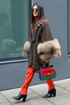 London+Fashion+Week+street+style  - HarpersBAZAAR.co.uk