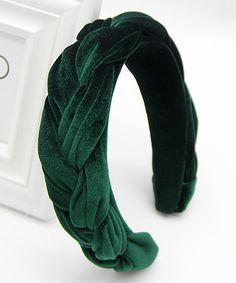 Emerald Green Jumpsuit, Emerald Hair, Green Velvet, Headgear, Hair Band, Braids, Base, Products, Fashion