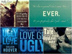 UGLY LOVE by Colleen Hoover. Available: August 5, 2014