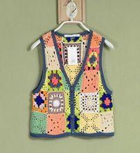 Crochet Cardigan Pattern, Vest Pattern, Crochet Patterns, Crochet Ripple, Knit Crochet, Chaleco Casual, Crochet Woman, Color Block Sweater, Crochet Fashion