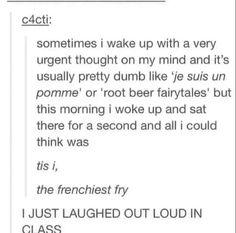 I laughed so hard