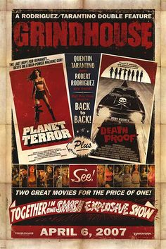 #Planet #terror #exploitation #film #vintage #Grunge #poster #Girl #grindhouse #zombie #sexy #deathproof