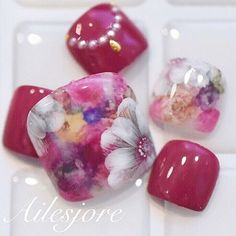 New✨フットネイル*本厚木ネイルサロン Ailesjoreエルジョワ* #Japannail #Ailesjore #nail #lucugel #nailsalon #nailswag...|ネイルデザインを探すならネイル数No.1のネイルブック Pretty Toe Nails, Pretty Toes, Feet Nails, Toe Nail Designs, Beautiful Nail Designs, Toe Nail Art, Nails On Fleek, Finger, Relationship Quotes