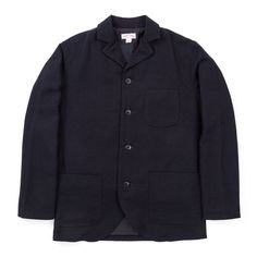 DOUBLE DIAMOND HBT SACK COAT NAVY