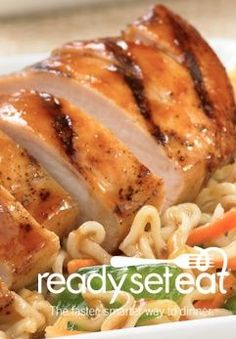 Asian Chicken Noodle Salad... A refreshing and light recipe great for a summer night. This salad also provides a nice source of protein!