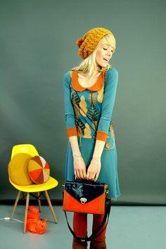 KLEID 'CLOUD DANCER' IN BLAU - KLEIDER by Bonnie-and-Buttermilk - Knee-Length Dresses - Dresses - DaWanda