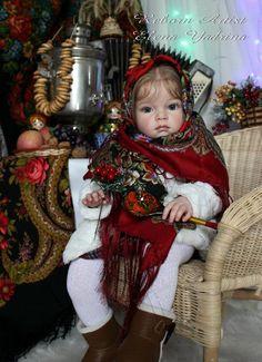 Барышня-крестьянка. Часть вторая - КРЕСТЬЯНКА. Куклы реборн Елены Ядриной / Куклы Реборн Беби - фото, изготовление своими руками. Reborn Baby doll - оцените мастерство / Бэйбики. Куклы фото. Одежда для кукол