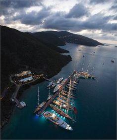 A state-of-the-art Caribbean Superyacht Marina - YCCS Marina Virgin Gorda