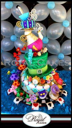 Alice in Wonderland cake - the most fantastic cake ever!!