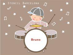 #vinilos infantiles creados por Stencil Barcelona