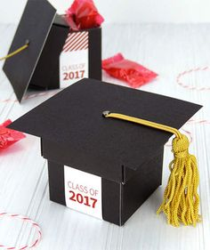 Graduation Party Favors That'll End Your Celebration on a High Note | Make sure it's an affair your guests will never forget by handing out these graduation party favors at the end of the night.