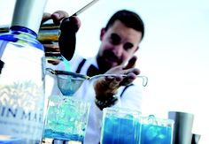 """Absinthe Distribution Master Barkeeper.  Felix Haag is a bartender with the highest possible international training """"IBA MASTER OF BARTENDING, WINE & SPIRITS"""" - Video  He offers a bar and catering service at the highest level and we are very proud to have him on board for our Absinthe events all around the world.  Enjoy his page: www.drinks-to-enjoy.ch  More info at www.cross-over.ch the absinthe event agency in Switzerland.  www.absinthedistribution.ch Event Agency, Catering Services, Wine And Spirits, Switzerland, Training, Events, Board, Bartenders, Drinking"""