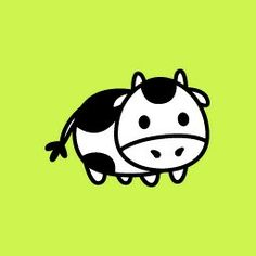 #really cute. Cow evolution