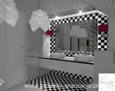 łazienka przy sypialni Vanity, Mirror, Furniture, Home Decor, Dressing Tables, Powder Room, Decoration Home, Room Decor, Vanity Set