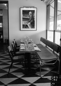 Sant Ambroeus Soho restaurant new york Manhattan