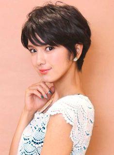 Asian Hair Pixie Cut