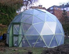 They sell kits for these!! http://www.geo-dome.co.uk/article.asp?uname=GD18kit