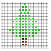 Ravelry: Christmas Tree Bobble Chart pattern by Kari Philpott Crochet Bobble Blanket, Christmas Crochet Blanket, Bobble Stitch Crochet, Crochet Stitches Chart, Filet Crochet, Diy Crochet, Crochet Patterns, Wiggly Crochet, Crochet For Kids