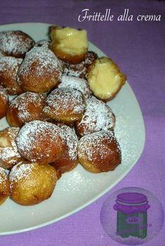 Frittelle alla crema - ricetta castagnole catanesi   cucina preDiletta